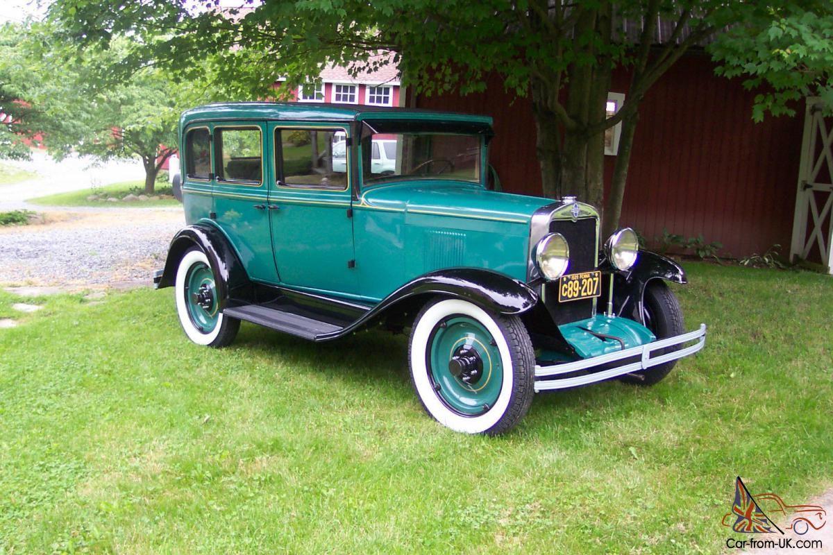 1929 Chevrolet Frame Off Restoration Six Cyl Chevrolet Sedan Chevrolet Cars Trucks