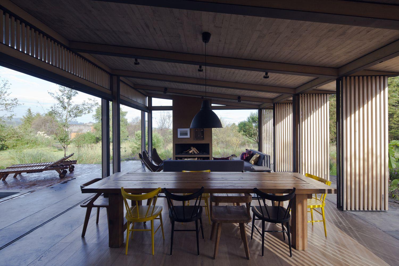 Galer A De Casa Moreno Cca Centro De Colaboraci N Arquitect Nica  # Muebles Raices Talca