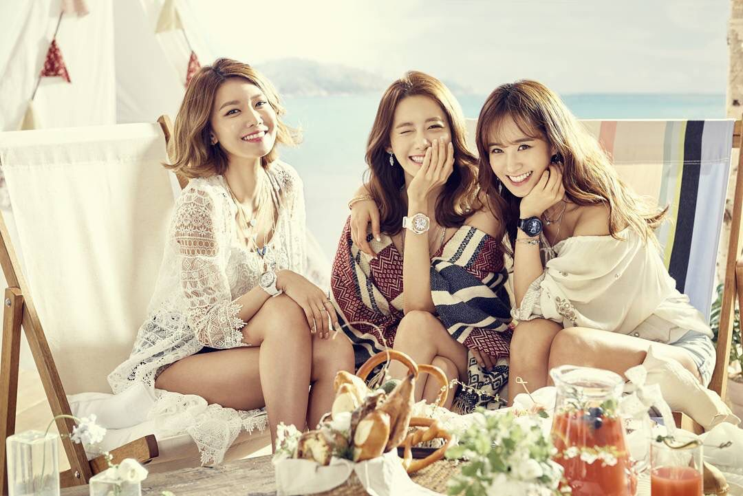 150504 ELLE update CASIO BABY-G 2016 S/S SNSD Sooyoung Yoona Yuri