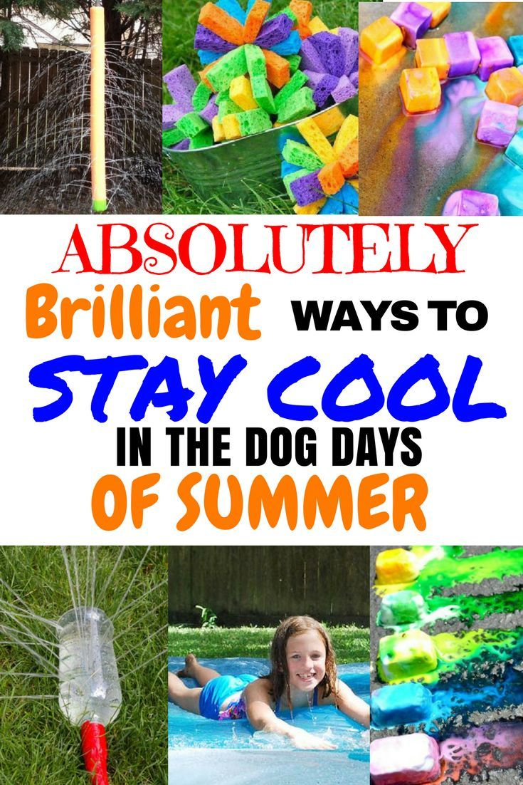 How To Stay Cool and Have Fun On Hot Summer Days  Fun summer