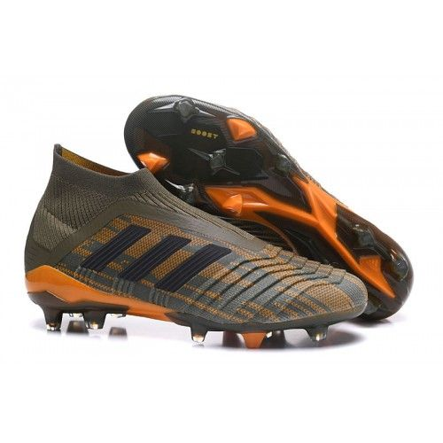 ... order nuevos 2018 botas de fútbol adidas predator 18 fg hombre en venta  verde negro naranja 898404bf00132
