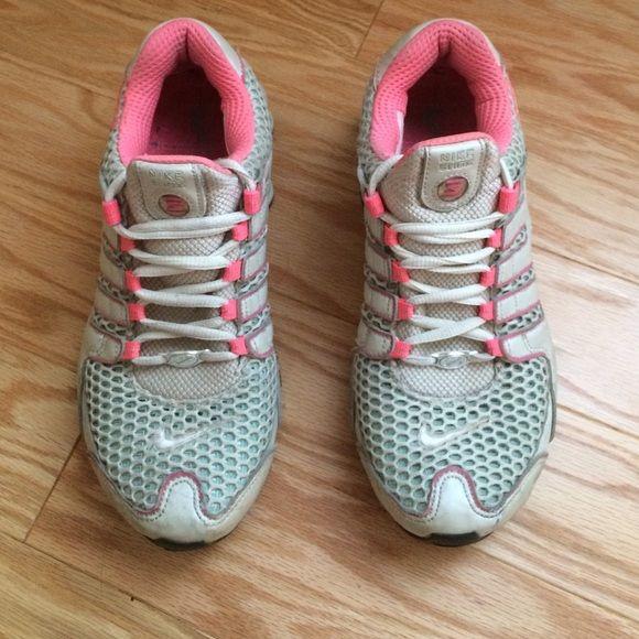 nike shox tennis shoes foams