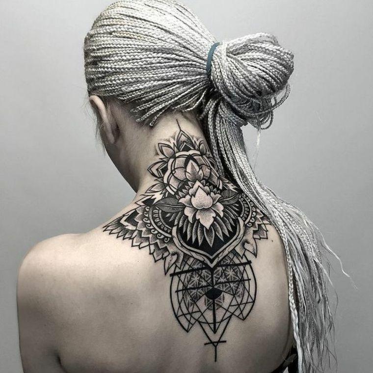 Mandala tattoo- diseños originales y llenos de significado -