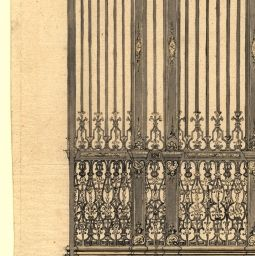[Projecto para as grades da Basílica de Mafra]