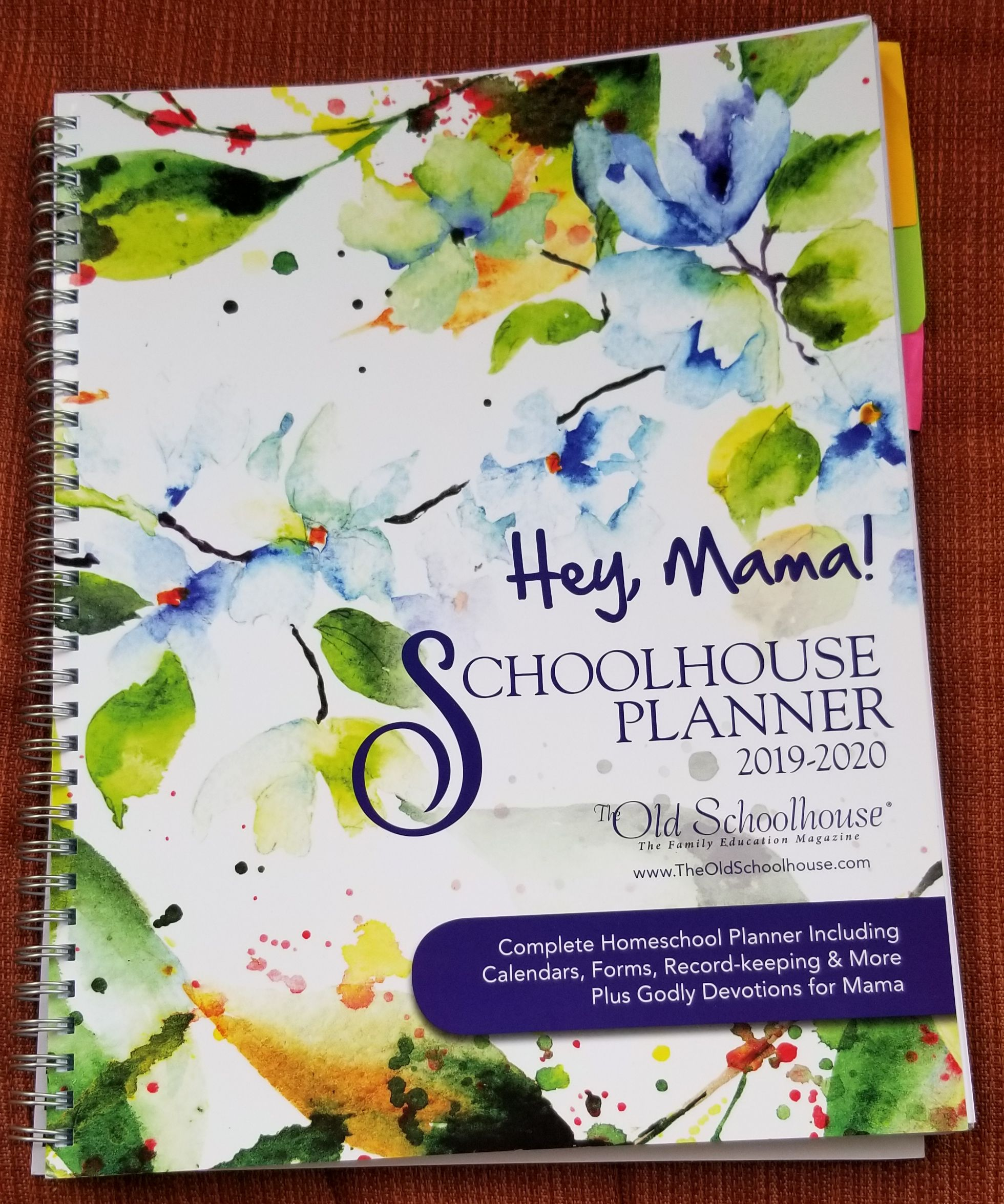 Review Hey, Mama! Homeschool Planner for 2019/20 Year