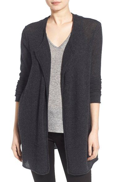 James Perse Long Cashmere Cardigan available at #Nordstrom ...