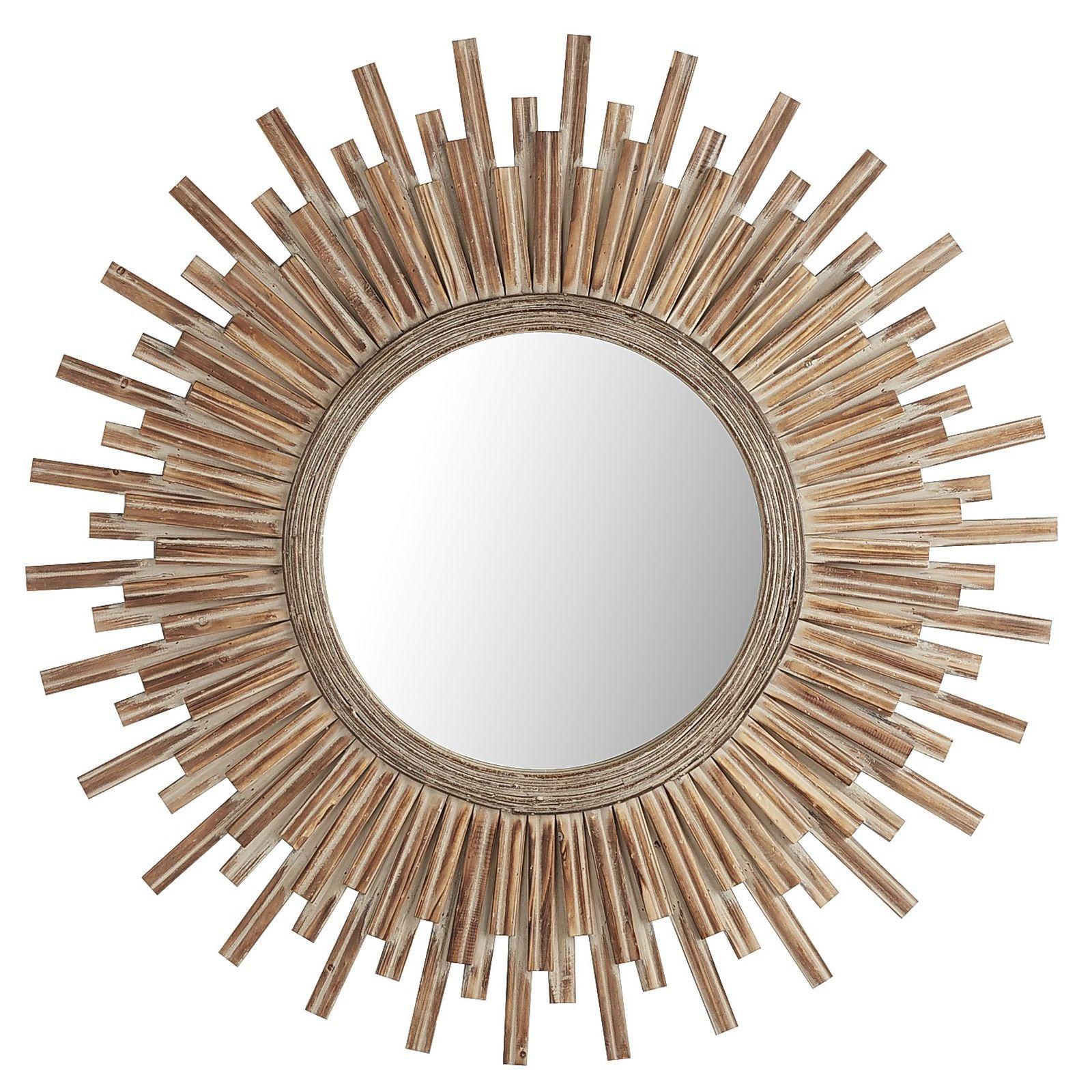 canyon 42 round mirror - Round Decorative Mirror