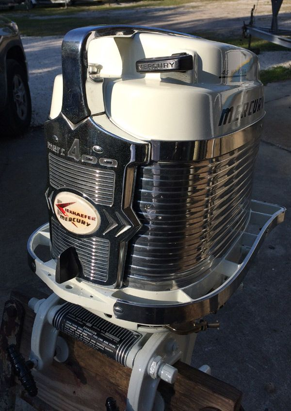 Mercury 400s 45 hp outboard vintage motor for sale for Vintage mercury outboard motors