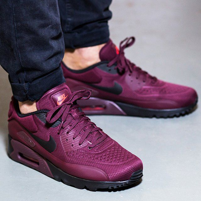 21533b63044b6 Nike Air Max 90 Ultra SE - Night Maroon