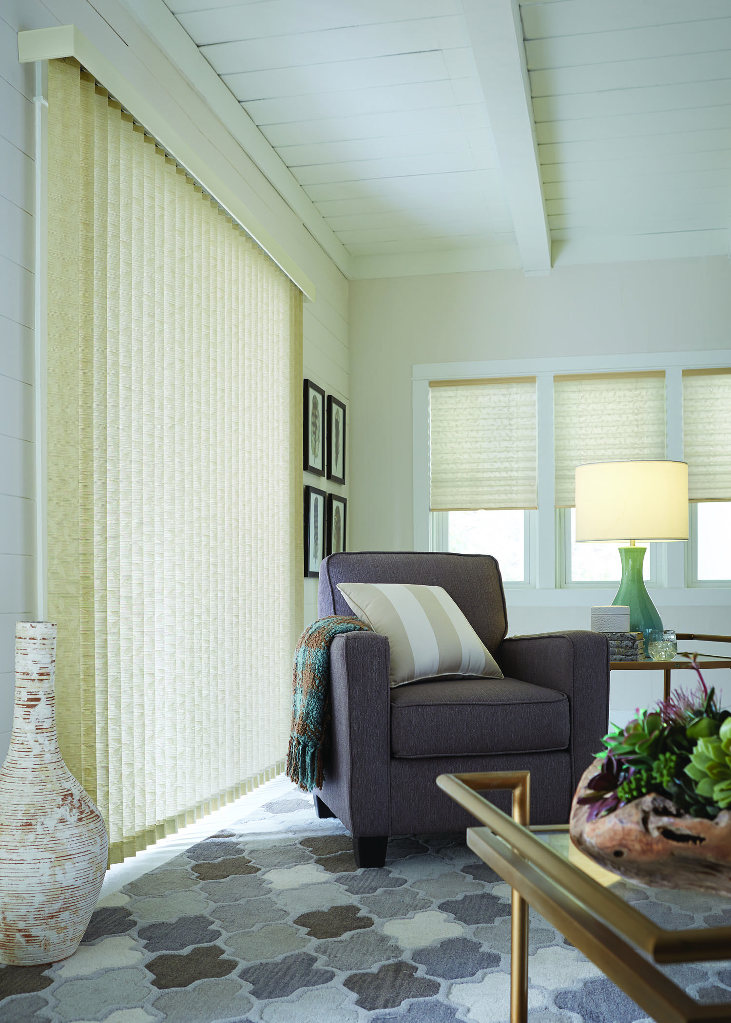 Graber Fabric Vertical Living In 2020 Vertical Blinds Curtains Blinds