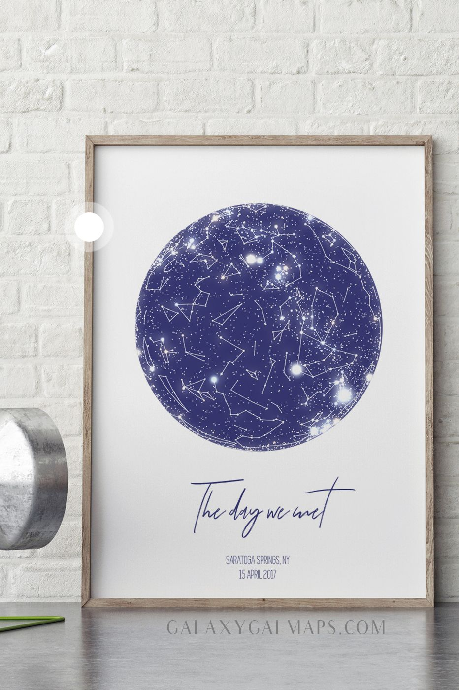 Star Map By Date UNIQUE Sky Map for Your Date   She Said Yes, Heart Map Print