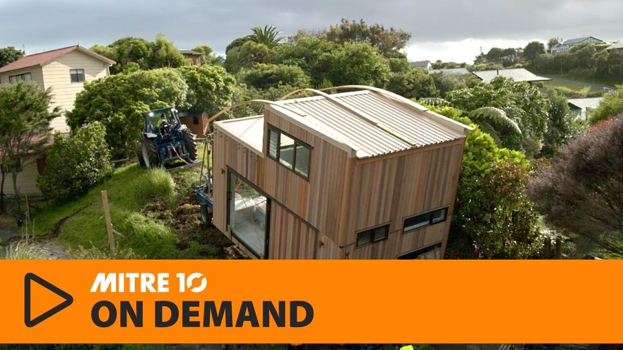 Ep 5 Moving Day Mitre 10 Tiny House With George Clarke