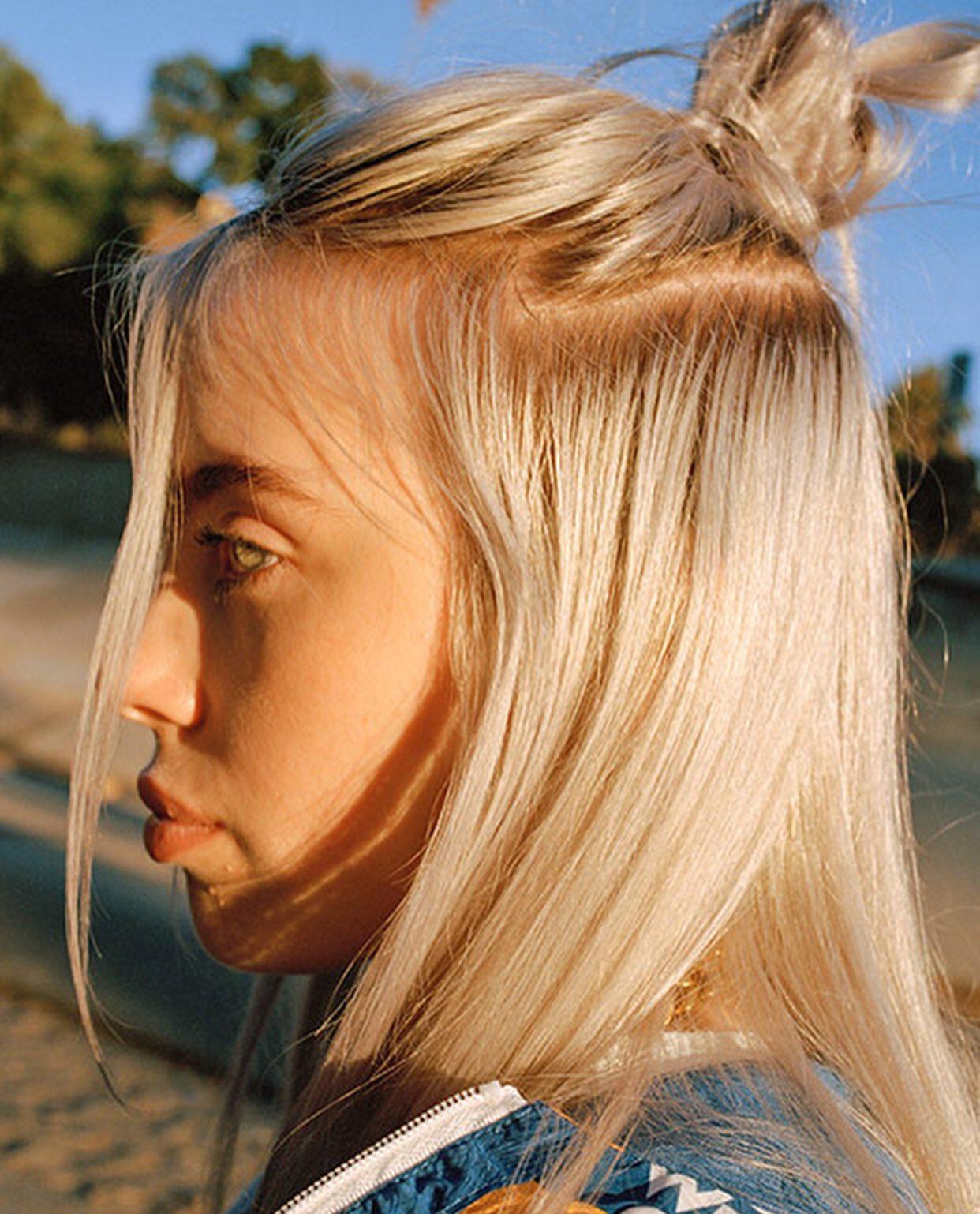 Billieeilish | F R I Z Z | Billie Eilish, Hair, Hair Goals