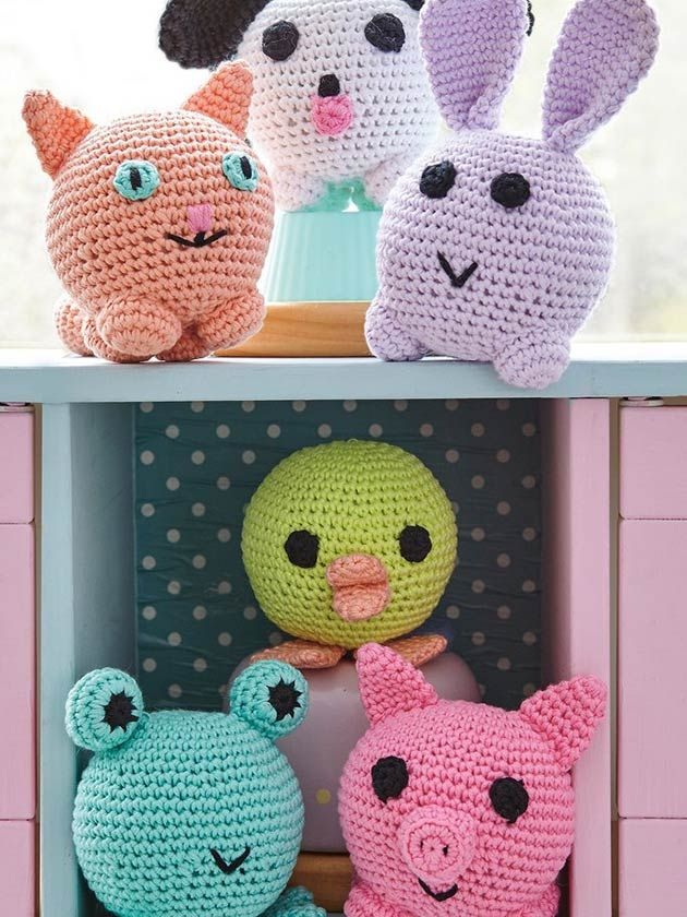 Amigurumi Crochet Patterns We Love Crochet Animals Amigurumi