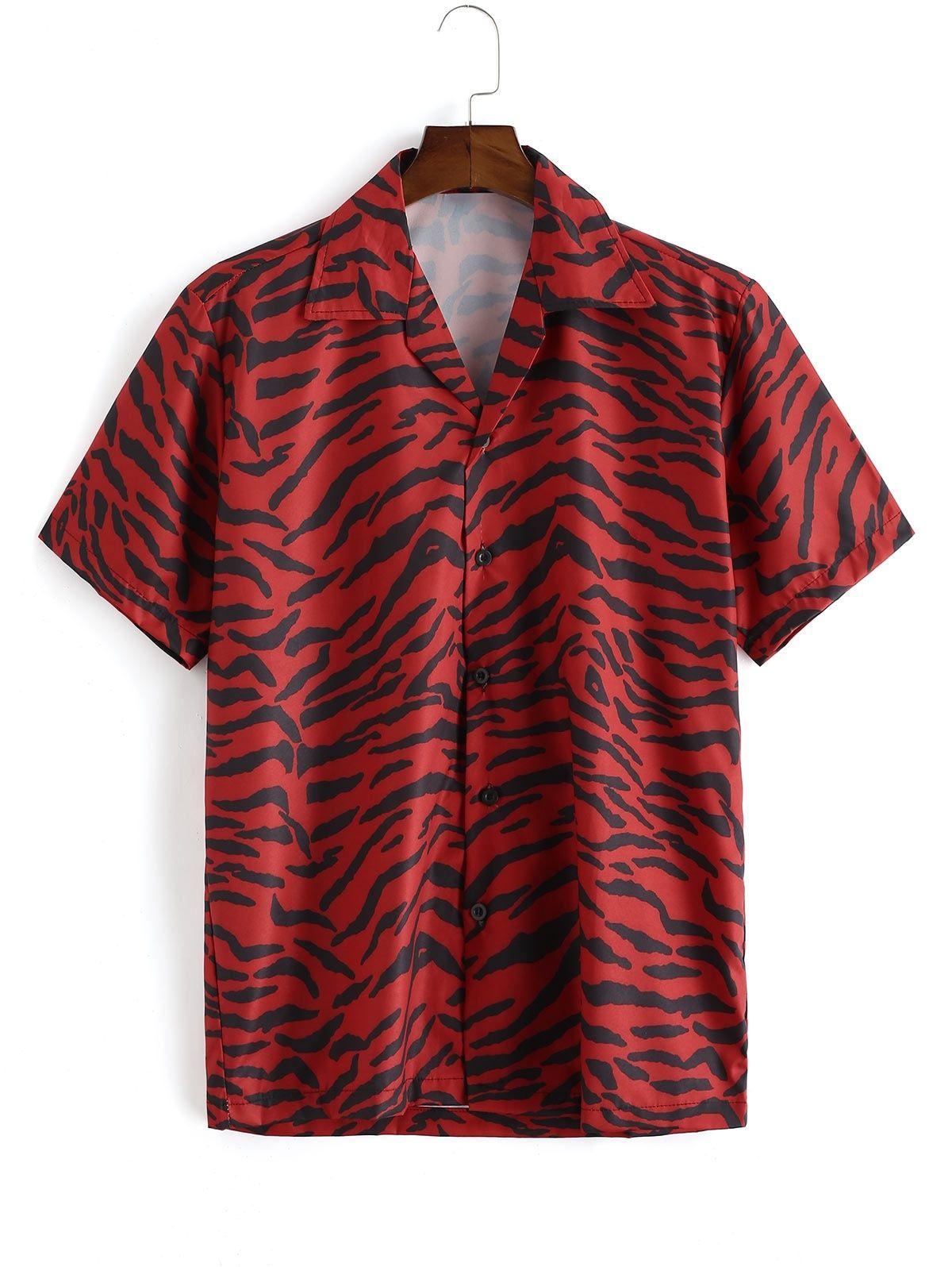 Zebra Print Short Sleeve Button Shirt Lava Red Affiliate Short Sleeve Zebra Print Lava Ad Zebra Shirt Outfit Zebra Shirt Tropical Print Shirt [ 1596 x 1200 Pixel ]