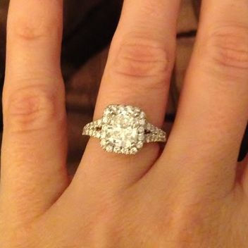 5 real girl engagement rings that are so pretty youll have trouble picking - Girl Wedding Rings