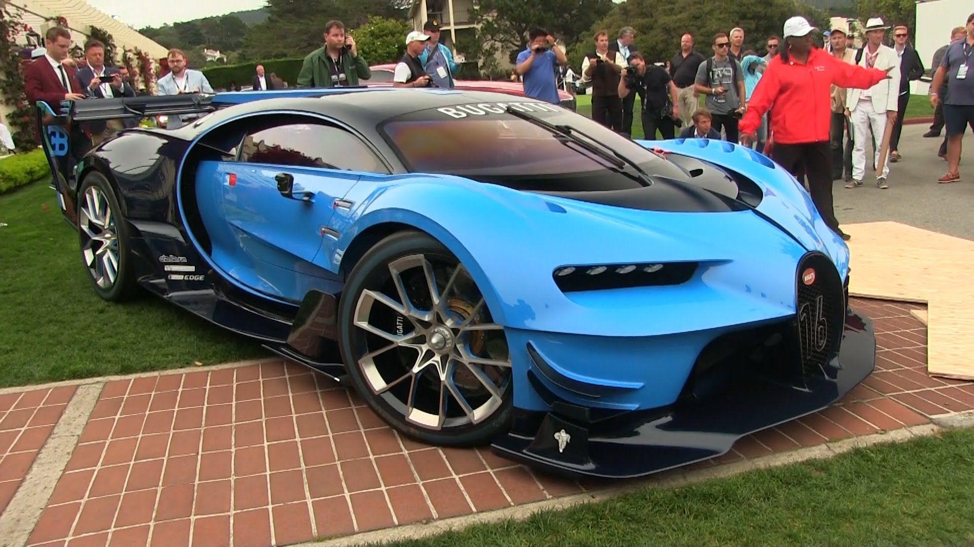 How To Break The Bugatti Vision Gran Turismo Bugatti Car Videos Modified Cars