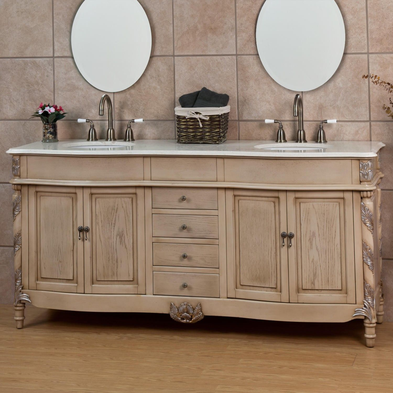 73 edmeston antique white double vanity white double on ikea bathroom vanities id=59656