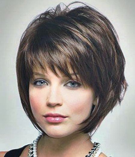 Bob Haircuts With Bangs For Women Over 50 Bob Hairstyles For Chin Length Hair Haircuts For Fine Hair Bob Hairstyles For Fine Hair
