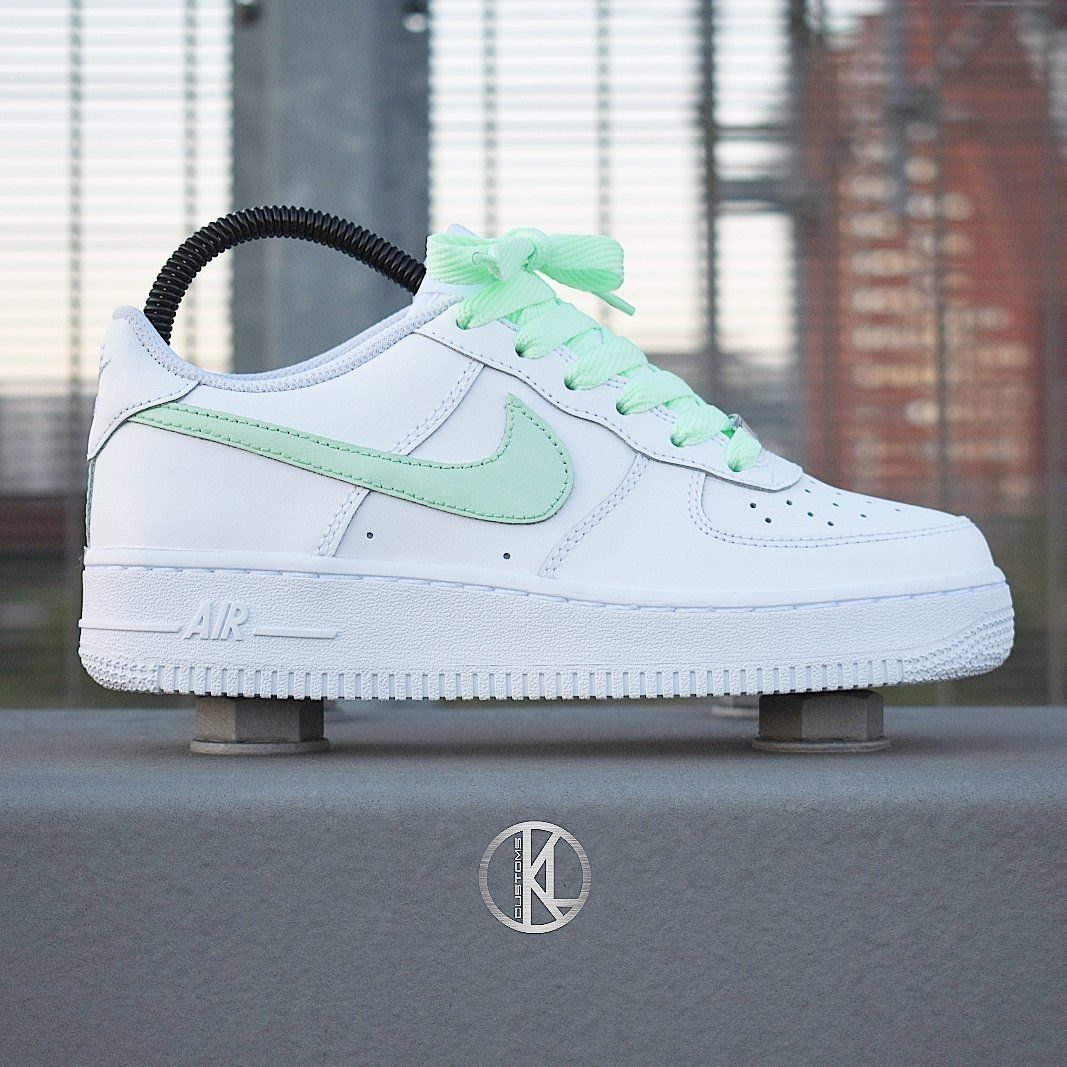 Image of Nike Air Force 1 Low (MINT) Customs in 2020