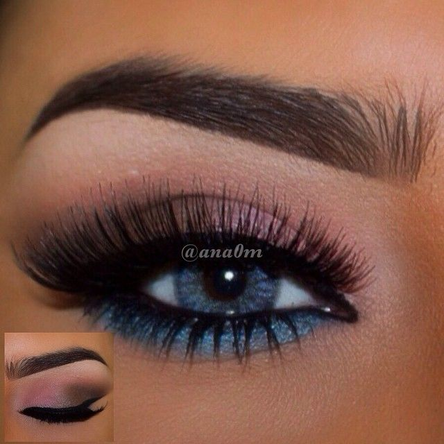 Eyeshadow @morphebrushes palette 35B Eyebrow @anastasiabeverlyhills #DipBrow dark brown Eyeliner nyx Lashes maxfactor Lenses Waicon Trikolor