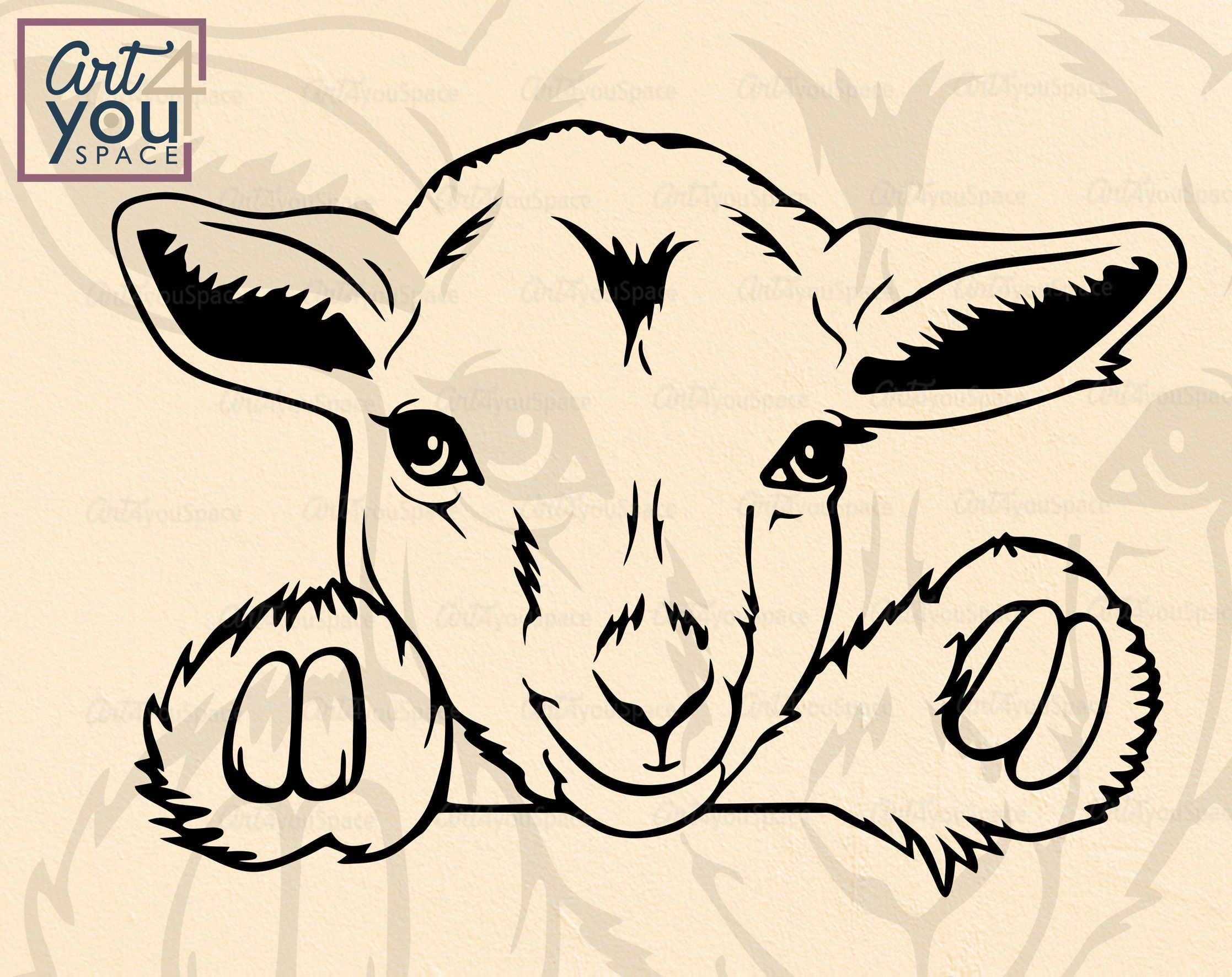 Pygmy Goat Kid Svg Files For Cricut Pet Svg Cute Animal Etsy In 2021 Cute Animal Clipart Goat Paintings Animal Clipart