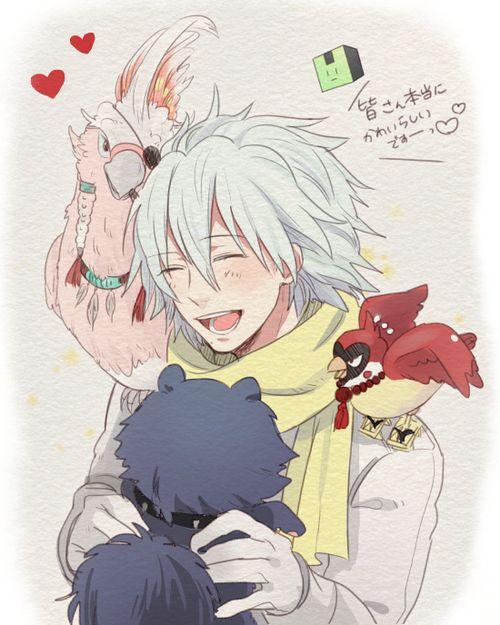 Nitro Behind Komatsu Manga Jpg: Clear & Allmates - DRAMAtical Murder