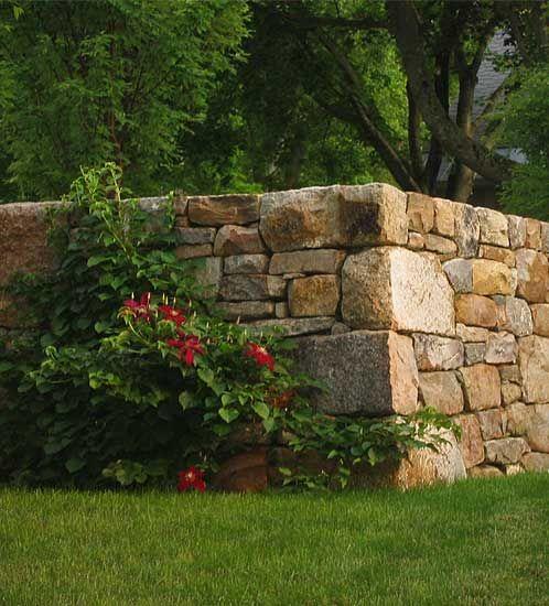 Pretty Stone Garden Walls: Building Stone, Rock Wall