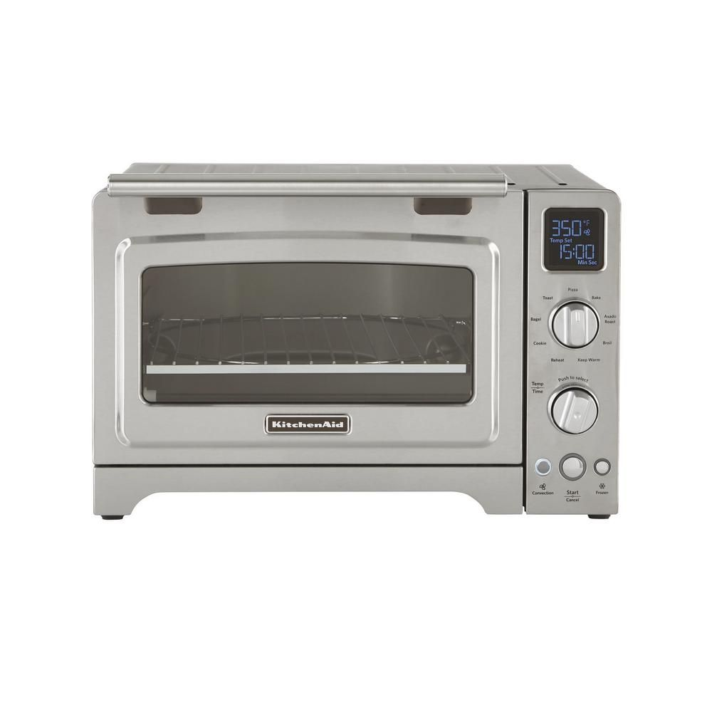 Kitchenaid 2000 W 4 Slice Stainless Steel Convection Toaster Oven