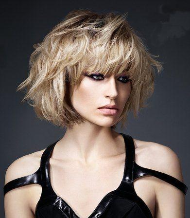 Bob blonde hair Coiffure carré dégradé, Coupe de cheveux