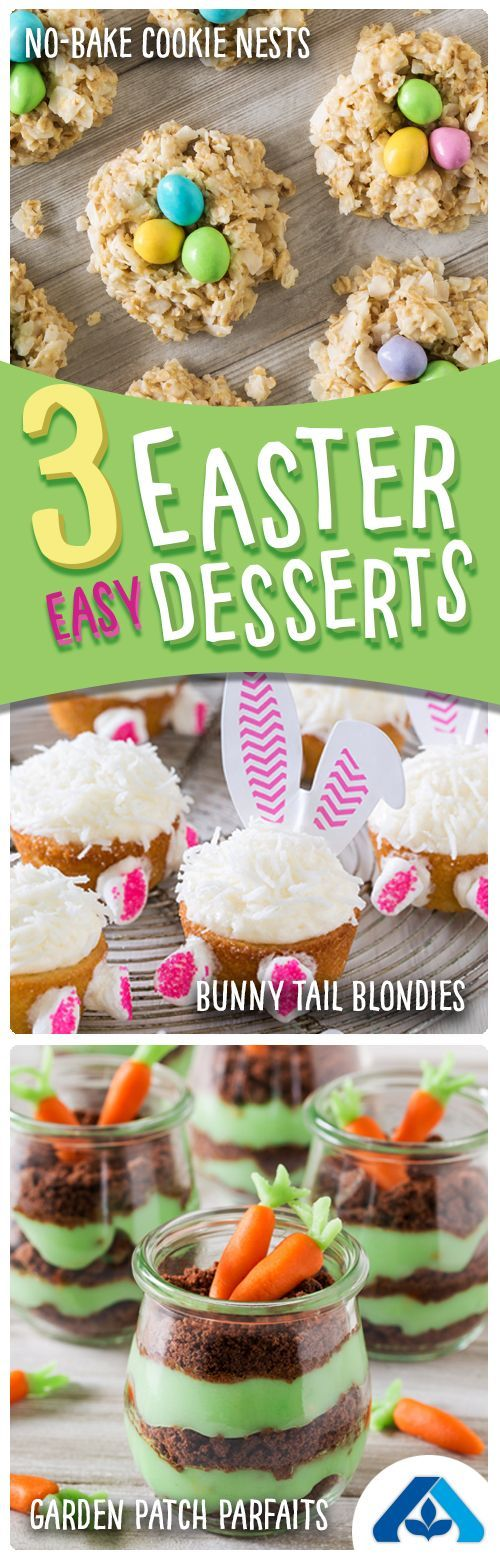 Photo of These three easy Easter desserts are almost too cute to eat… almost. From cupc…