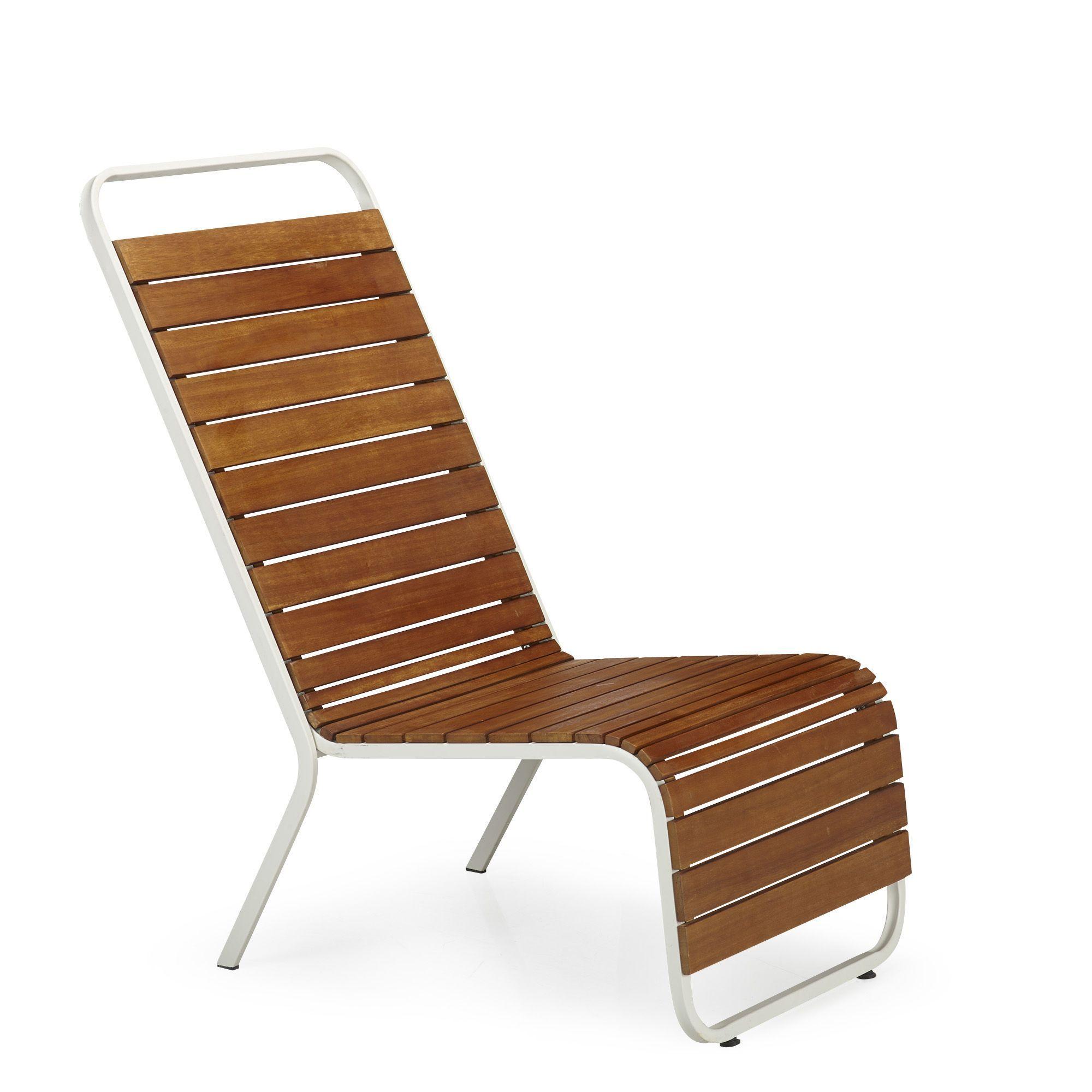 Fauteuil de jardin relax Blanc mat - Extenso - Les fauteuils de ...
