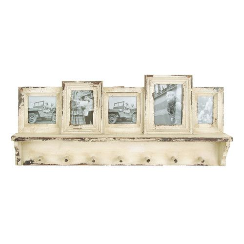 Found it at Wayfair - Wooden Wall Picture Frame with Coat Rack | For ...