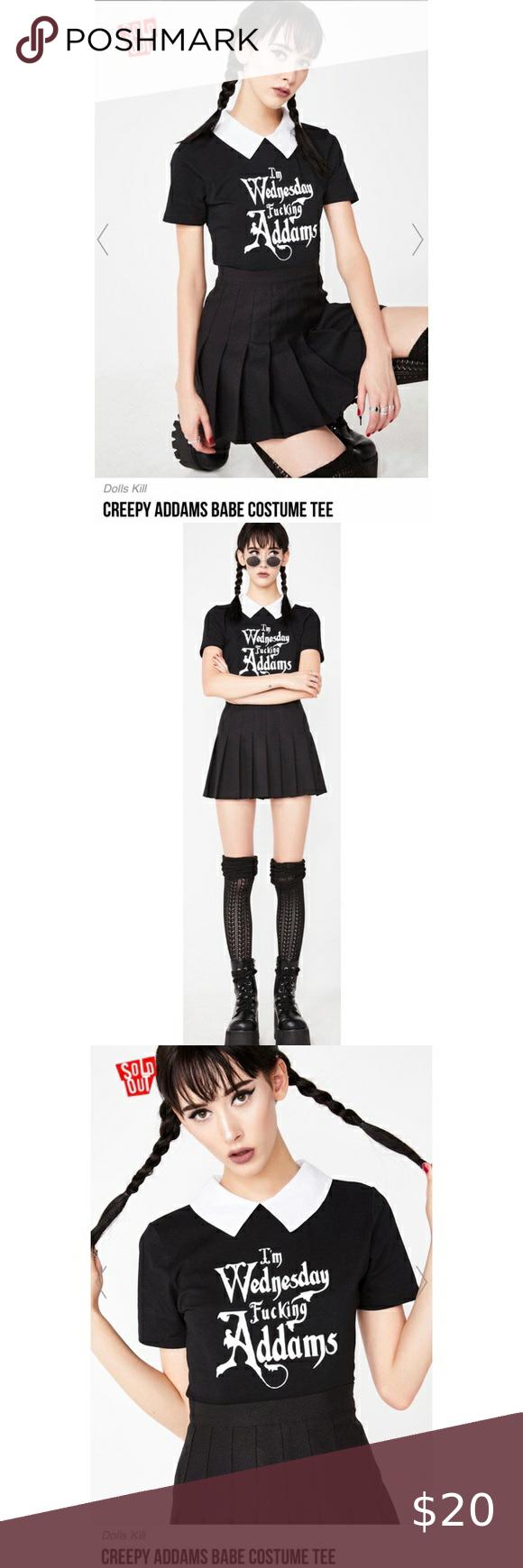Dolls Kill Halloween Top Size Medium in 2020 Costume