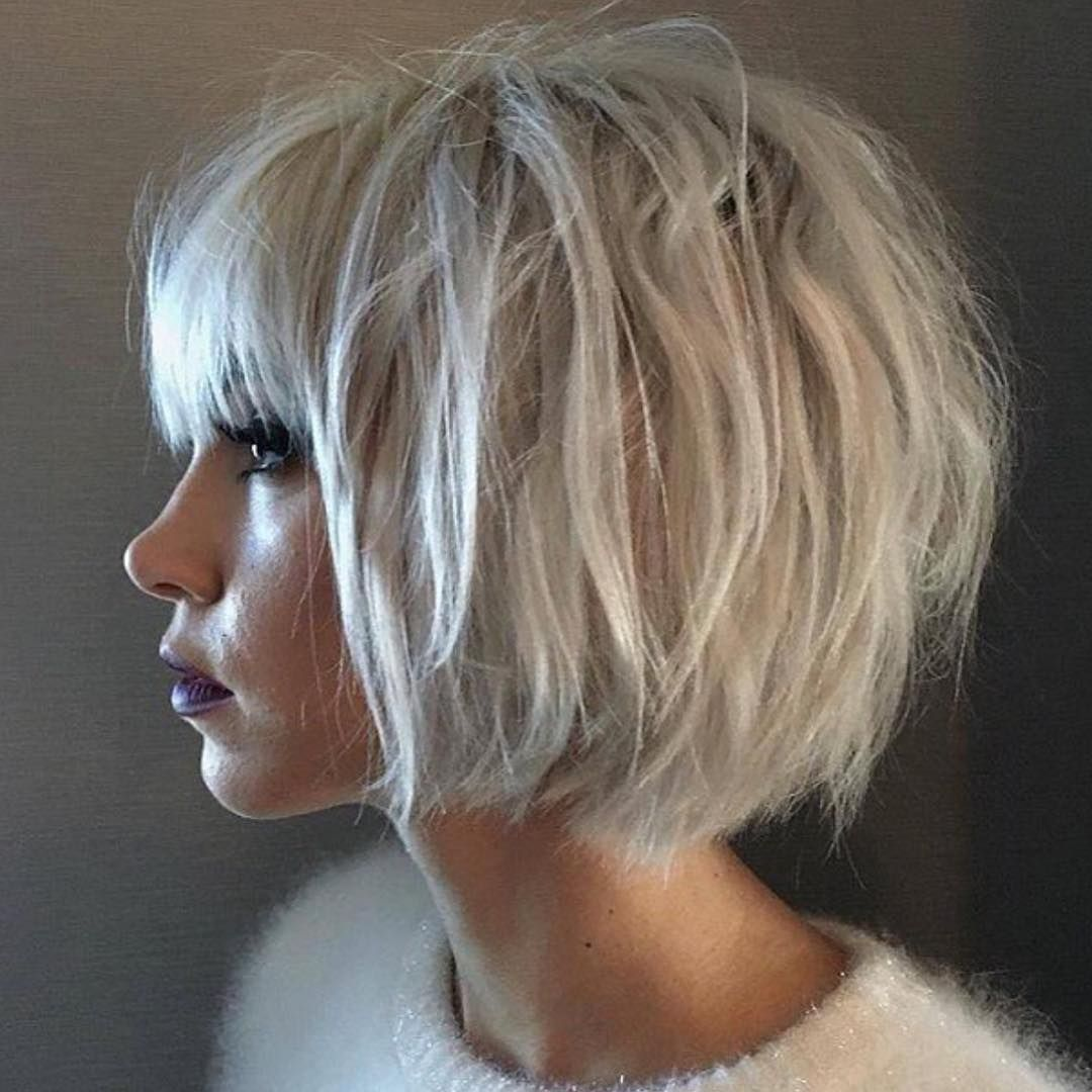 36 stunning hairstyles & haircuts with bangs for short