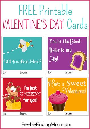 Freebie Finding Mom Printable Valentines Cards Valentine Day Cards Valentines Cards