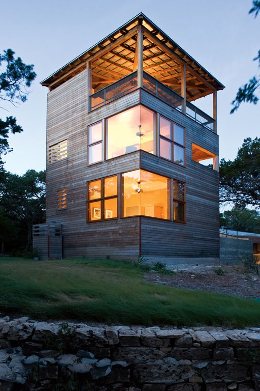 Tower House Andersson Wise Architects Design House Tower