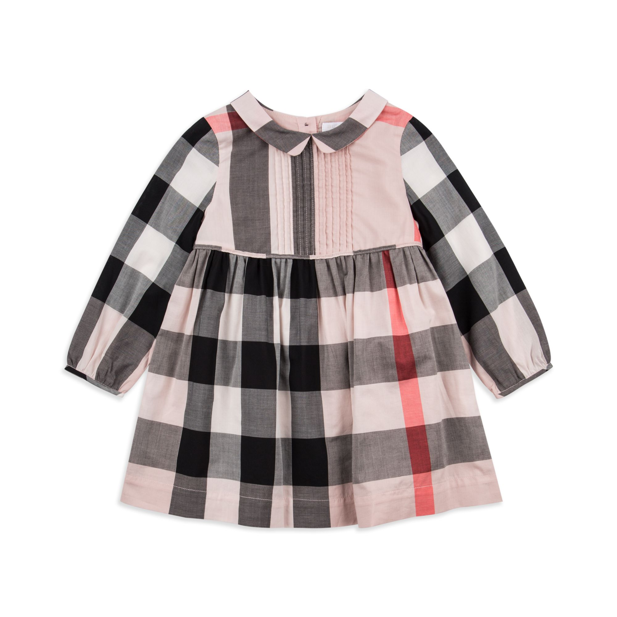 ba1a83d9c Burberry - Baby Girls  Liz  Dress - Pink - Baby long sleeve dress ...
