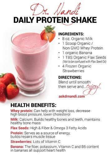 protein shakes and juicing diet