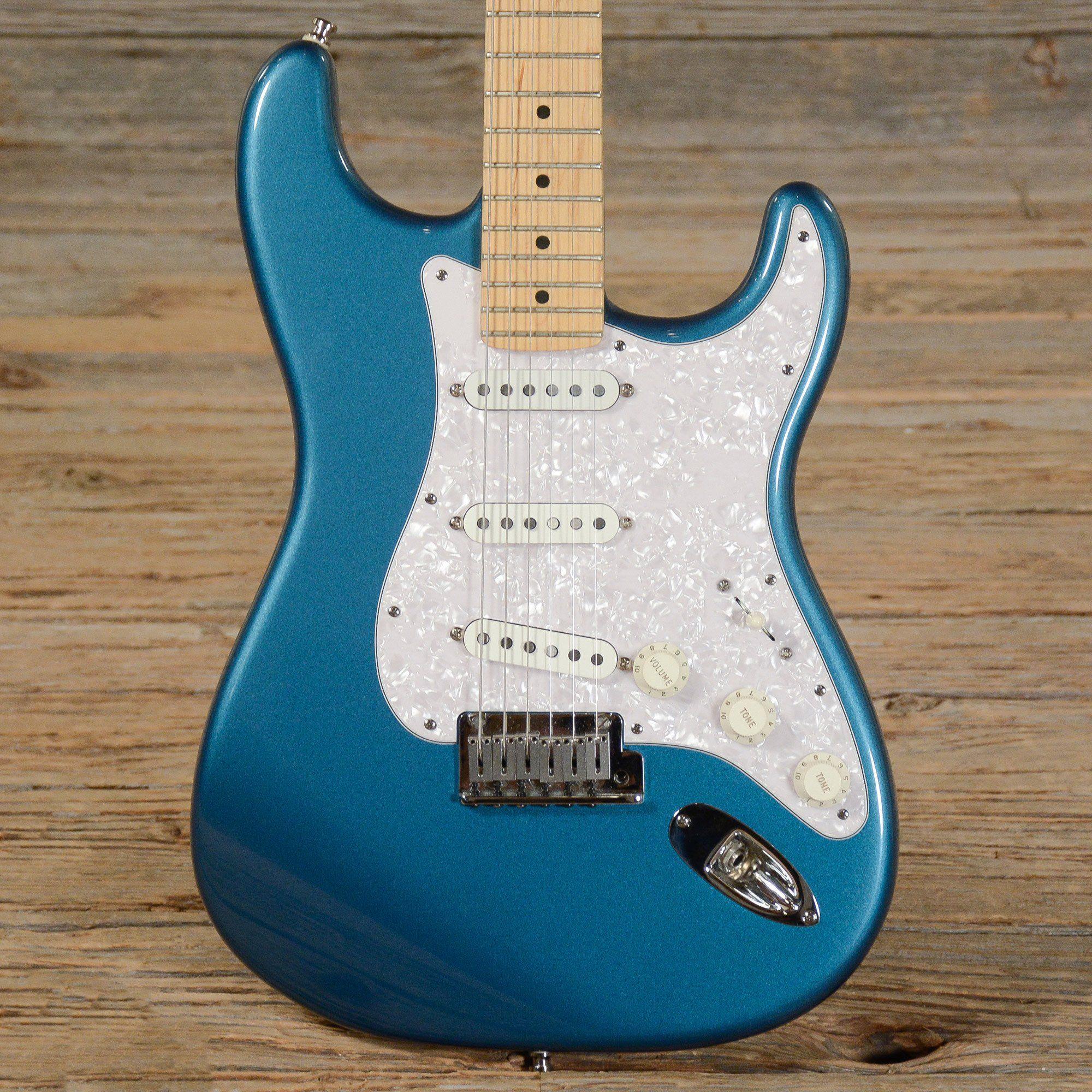 Fender American Standard Stratocaster Ocean Turquoise 2001 (s453 ...