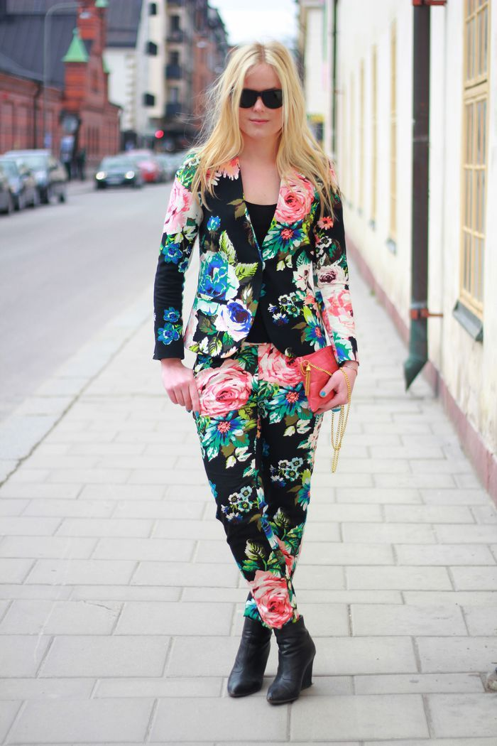 Definitely still not bored of this floral print from H.