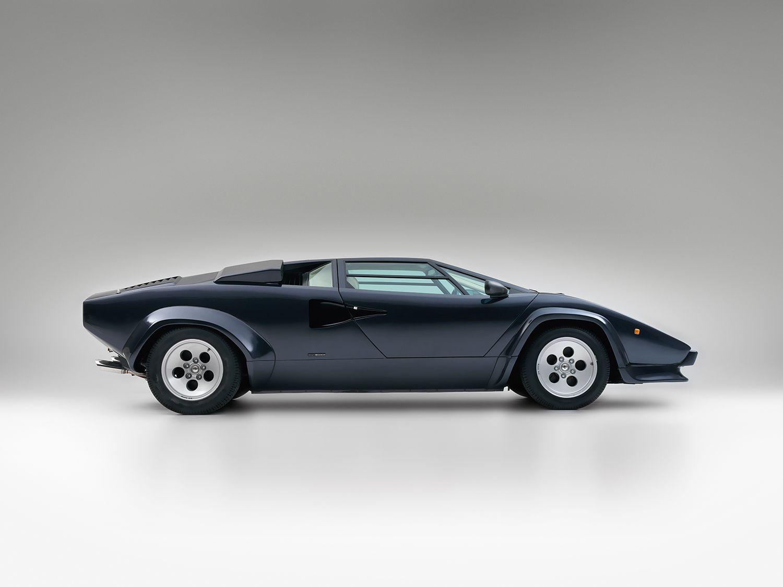 1985 1987 Lamborghini Countach Lp5000 S Quattrovalvole Motor