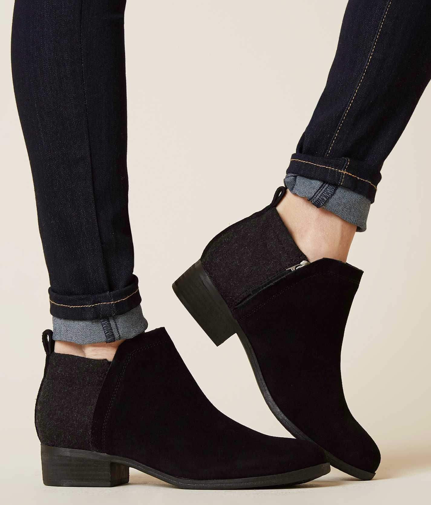 d37a4d32b59 TOMS Deia Ankle Boot - Women s Shoes in Black Suede