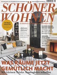 Schoner Wohnen 11 2018 Cover Wohnen Einrichten Und Wohnen Schoner Wohnen