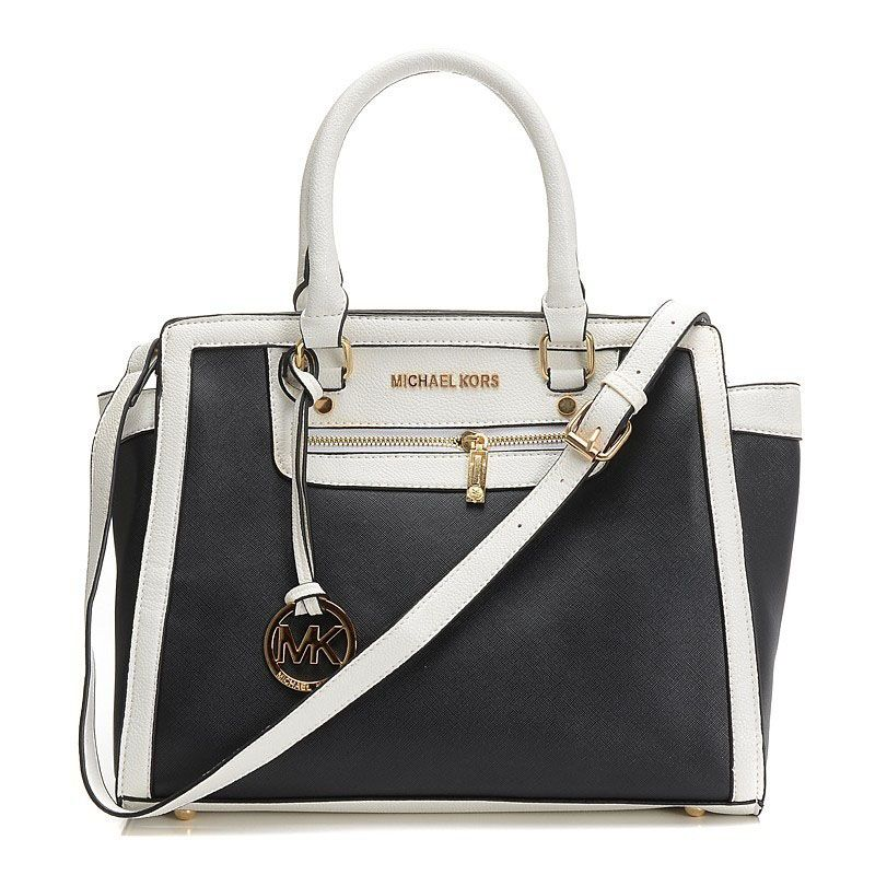 5e7421e09304 It is so beautiful and fashion.We love it - Michael Kors Selma Top-Zip Large  Black Satchels.