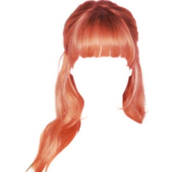 Ios Camera Image Liked On Polyvore Featuring Hair Hair Png Wig Hairstyles Anime Hair
