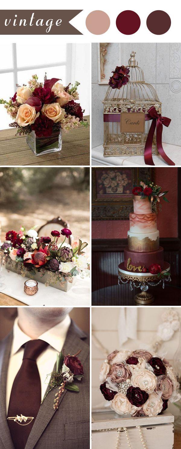 Perfect Burgundy Wedding Themes Ideas For 2017 Elegant Invites