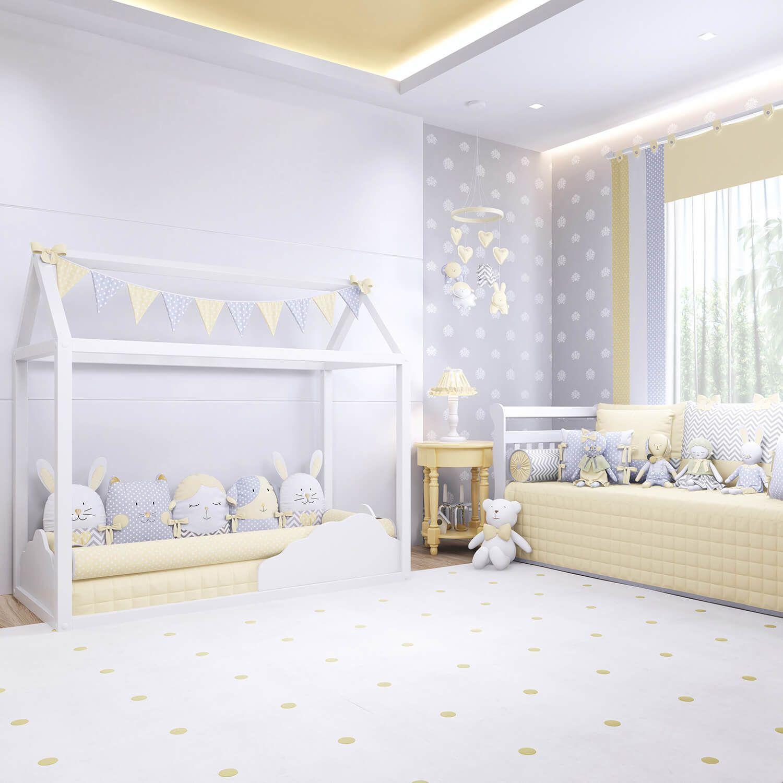 O Quarto De Beb Montessoriano Amiguinhos Amarelo Chegou Com Toda  ~ Quarto Montessoriano Projeto E Quarto De Menino Amarelo