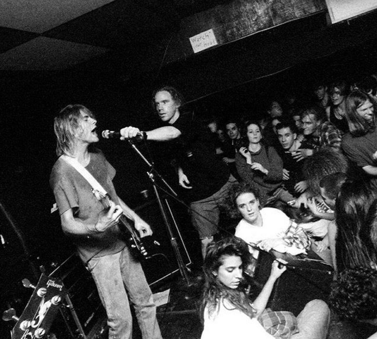 Kurt Cobain Nirvana Heroe
