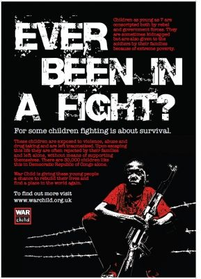 Project War Child School posters/postcards  14-16 years - PSHE. Three downloadable posters/postcards that you can print and use in your classroom.